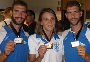Tρία Χρυσά Μετάλλια Με Την Υποστήριξή Μας
