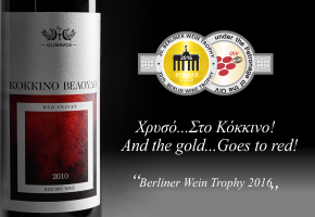 Two Gold Medals in International Competition Berliner Wein Trophy