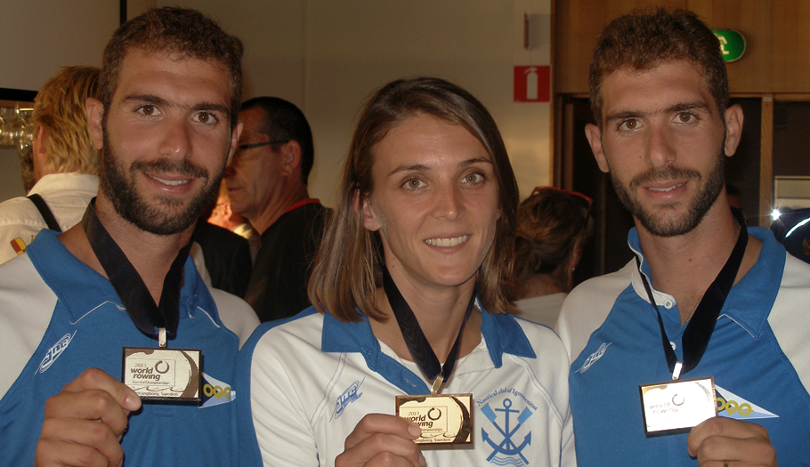 Three Gold Medals for Alexandra Tsiavou and Gountoulas Brothers with our support