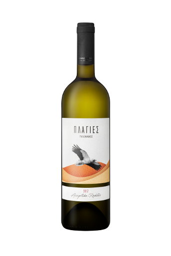 Plagies Glinavos Assyrtiko - Roditis is a white dry wine from Assyrtiko and Roditis grape varieties