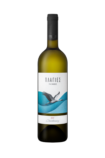 Plagies Glinavos Chardonnay is a white dry wine from Chardonnay grape variety
