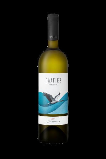 Λευκό Κρασί Πλαγιές Γκλίναβος Chardonnay με αρώματα ώριμων φρούτων και λουλουδιών από την ποικιλία Chardonnay του Κτήματος Γκλίναβος, στη Ζίτσα, Ιωάννινα.