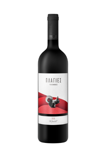 Plagies Glinavos Merlot is a red dry wine from Merlot grape variety