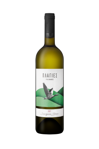 Plagies Glinavos Sauvignon Blanc is a white dry wine from Sauvignon Blanc grape variety