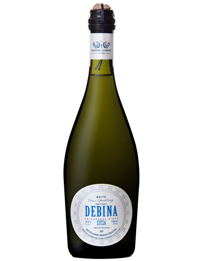 Debina wine a white semi sparkling wine from Zitsa